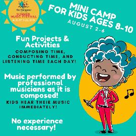 Go Compose North America Summer Festival 2021 - Online Mini Camp